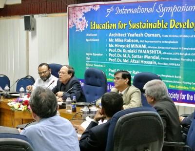 バングラデシュ中央銀行のDr. Atiur Rahman総裁の講演