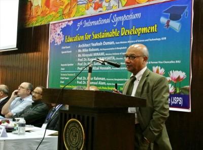 Dr. Md. Abdus Sattar Mondal教授による基調講演