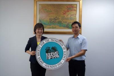 左からDuangjai助教、山田副センター長