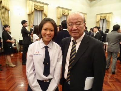 Yanakawee Siripongvutikornさんとセンター長