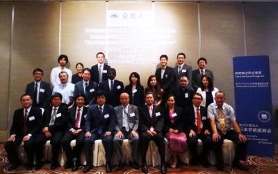 「インドシナ地域における地球環境学連携拠点の形成」ワークショップ参加者