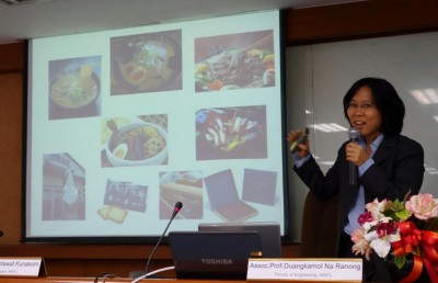 Dr. Duangkamolによる説明