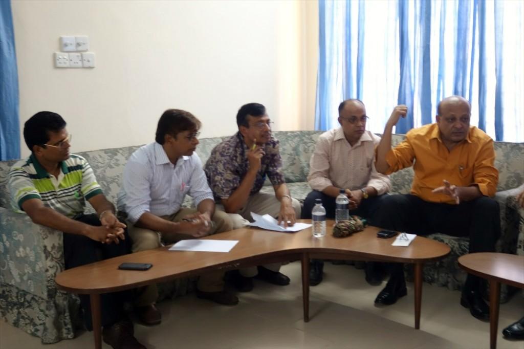 活発な議論が行われた理事会