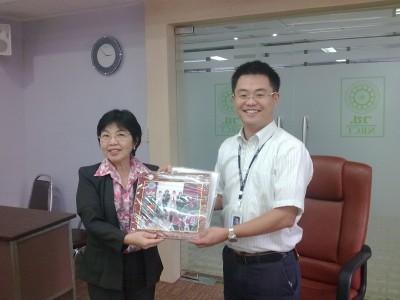 NRCT(タイ国学術会議)訪問