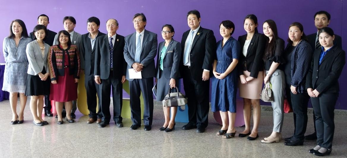 マハーサーラカーム大学でのJapan Education Fairに参加した日本大使館、日本の大学関係者