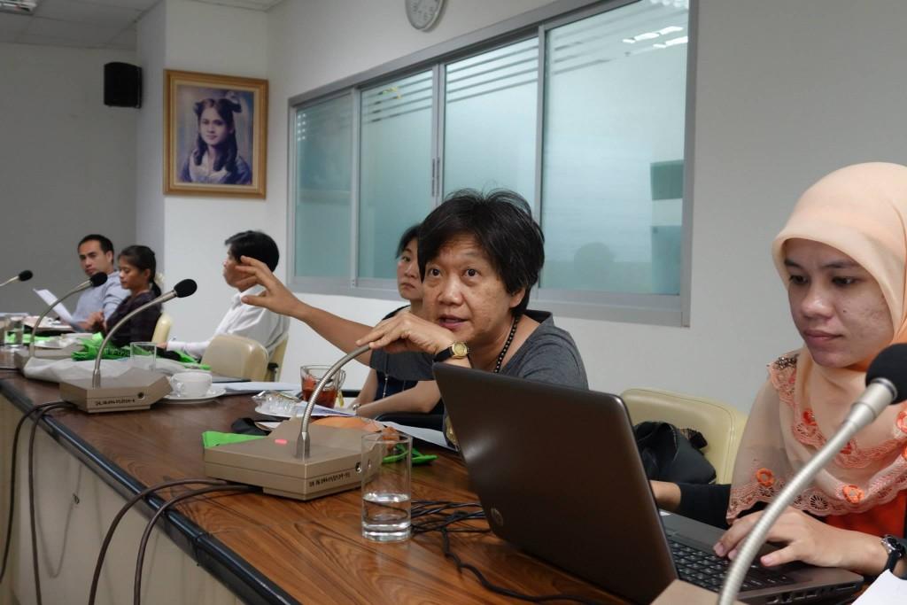 JSPS事業について質問する参加者