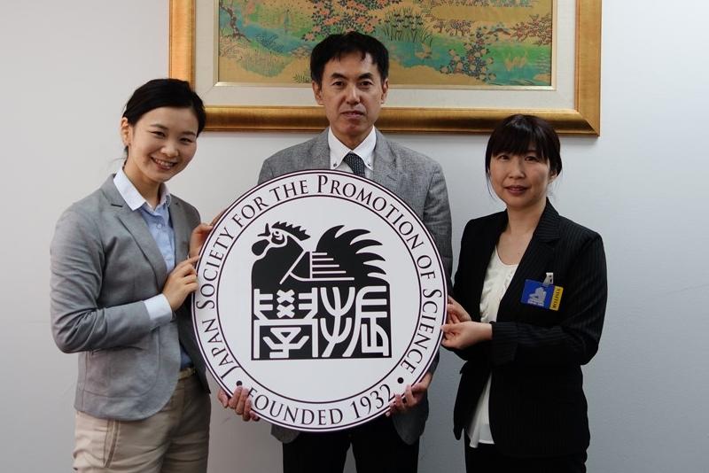 左より国際協力員、横瀬専門員、立原主任