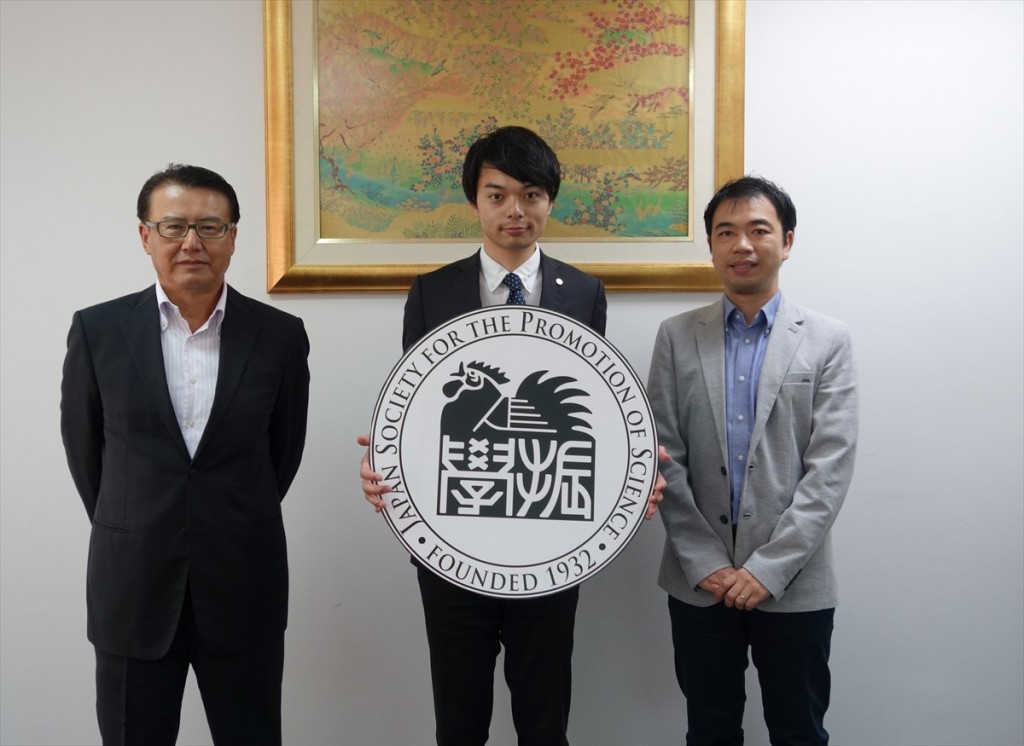 左から福井工大松浦理事、神戸国際大学小谷口氏、副センター長