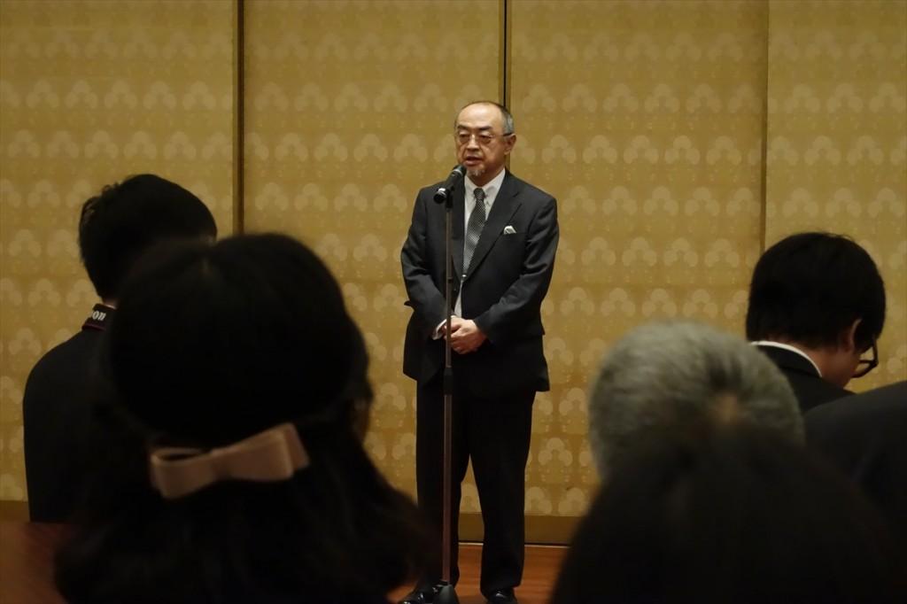 佐渡島大使のご挨拶