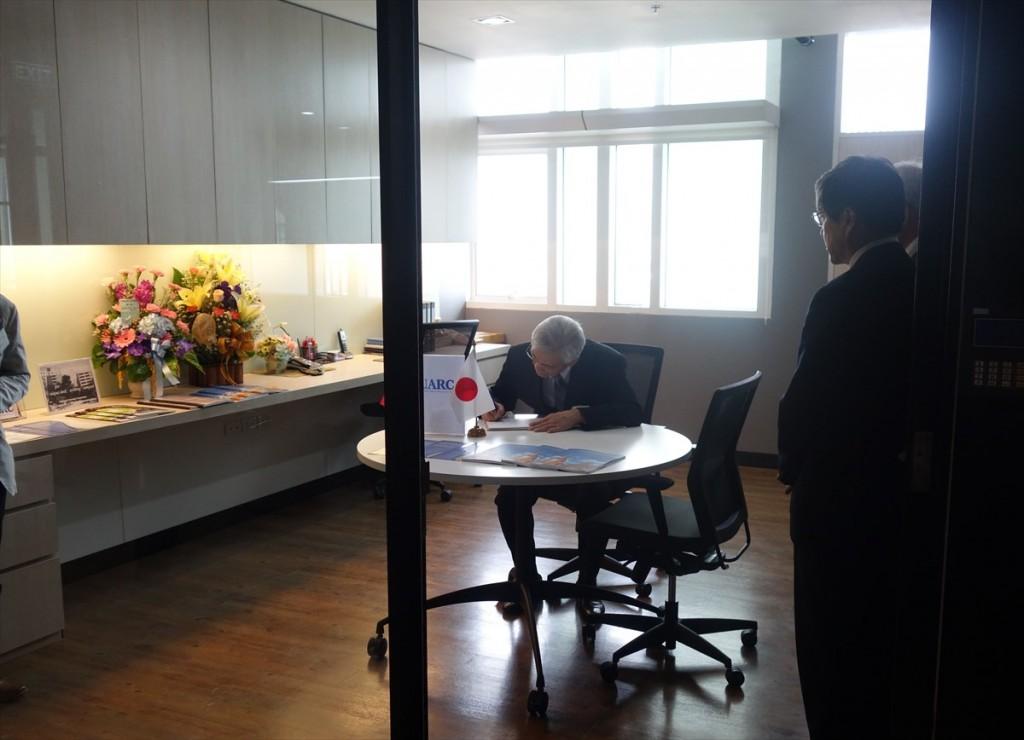 UEC-ASEANリサーチセンターの新オフィス