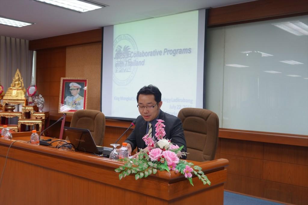 Chaiyan国際担当副学長