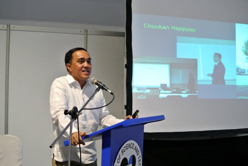 Dr. Dungcaによる講演