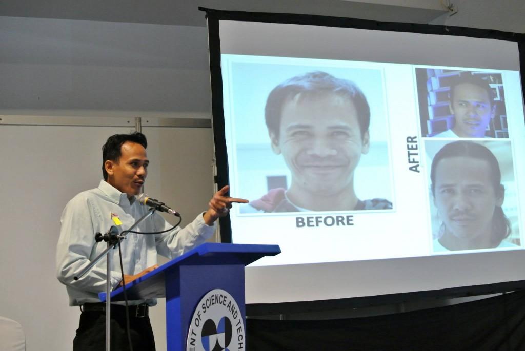 Dr. Quiazonによる講演