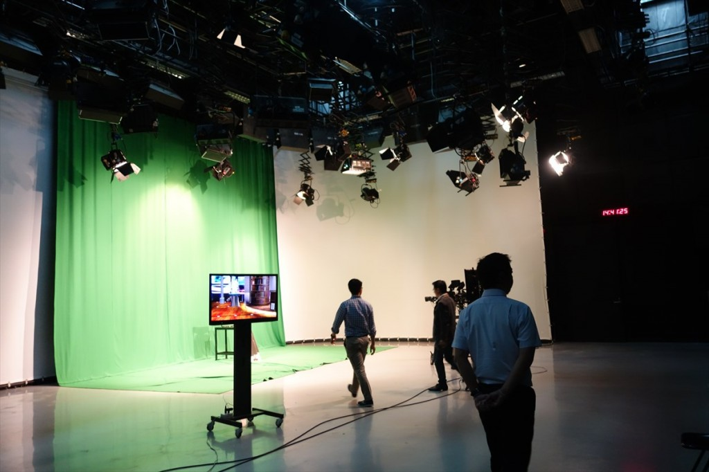 TV番組収録スタジオ