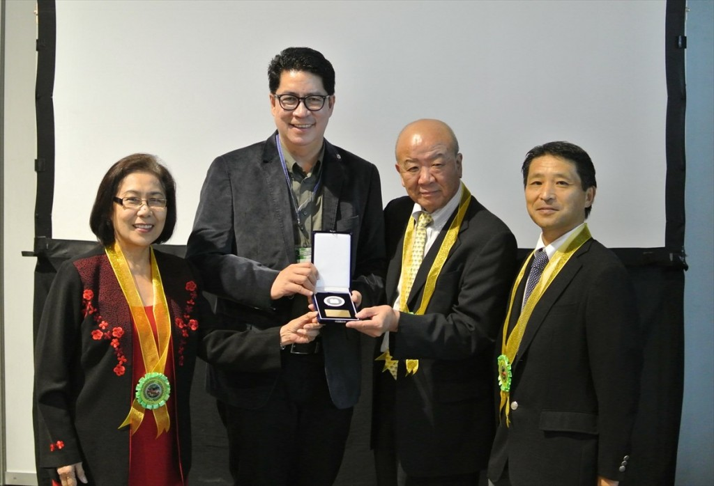 RONPAKU medal award_R