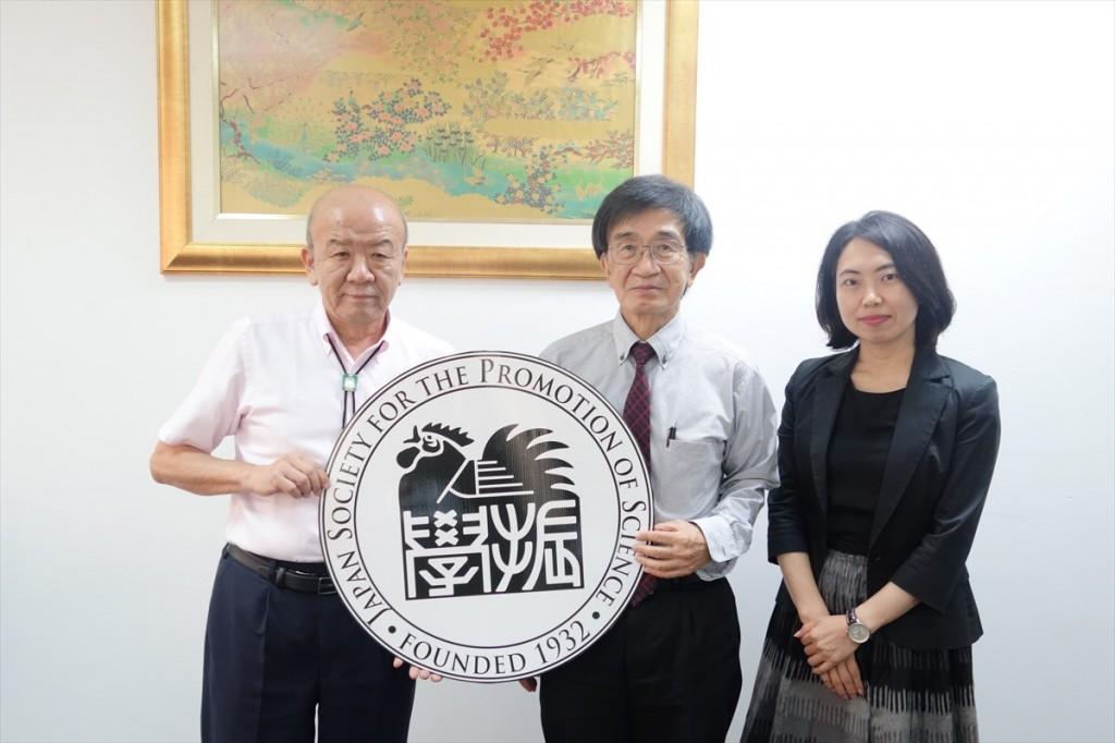 左から山下センター長、森村東京工業大学タイ拠点長、古屋副センター長