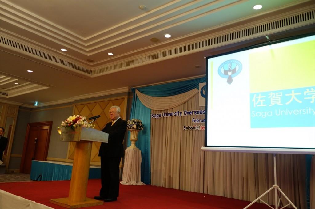 在タイ日本国大使館小林参事官の挨拶