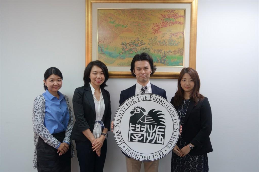 辻国際協力員、古屋副センター長、尾島准教授、鬼丸弁護士