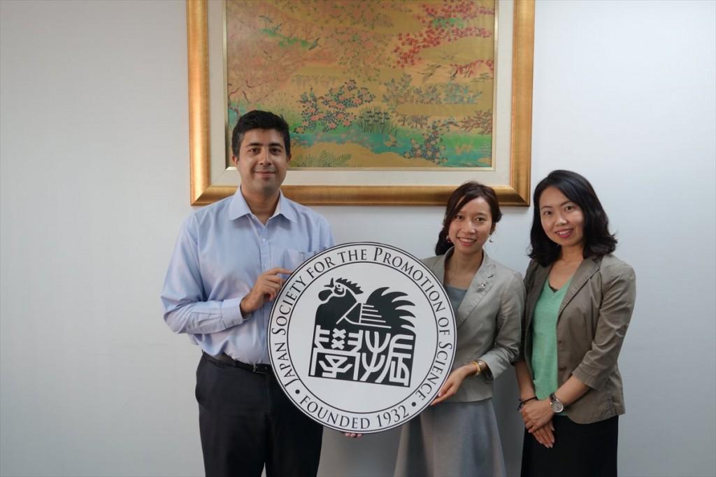 Dr. Safa、Dr. Rungnapha、古屋副センター長
