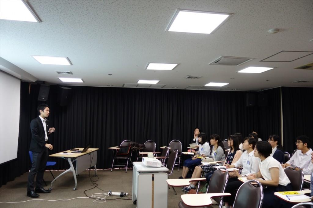 大田国際協力員のJSPS国際事業説明