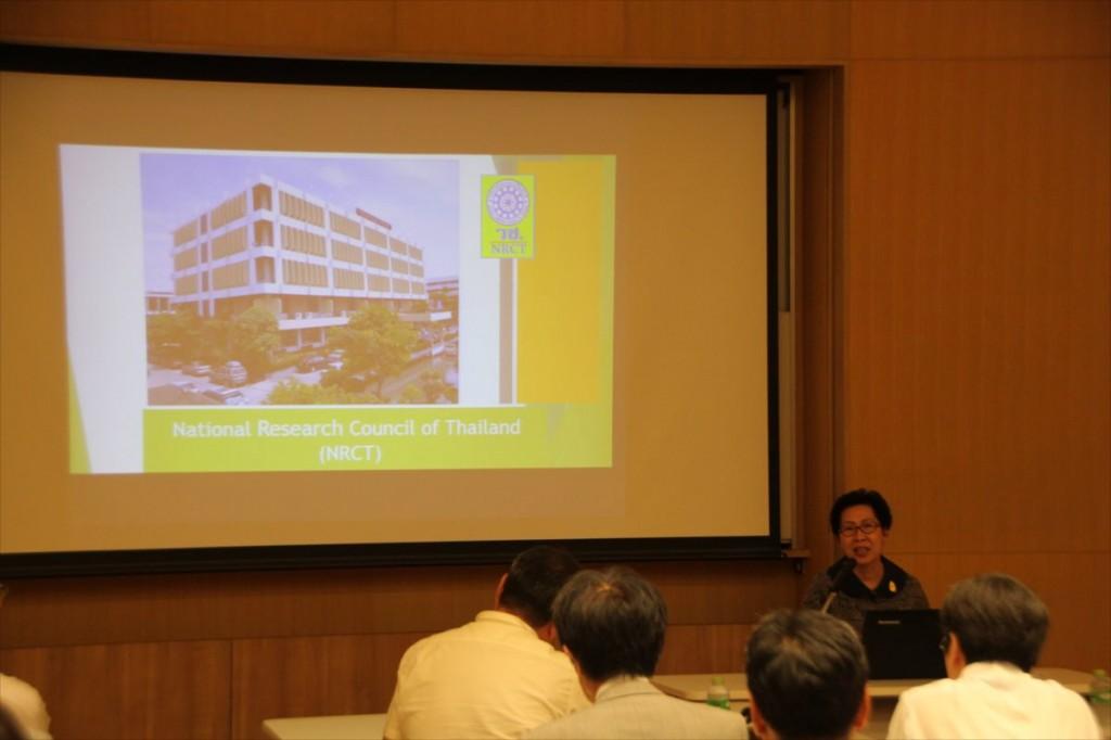 Panee国際事業部長による講演の様子
