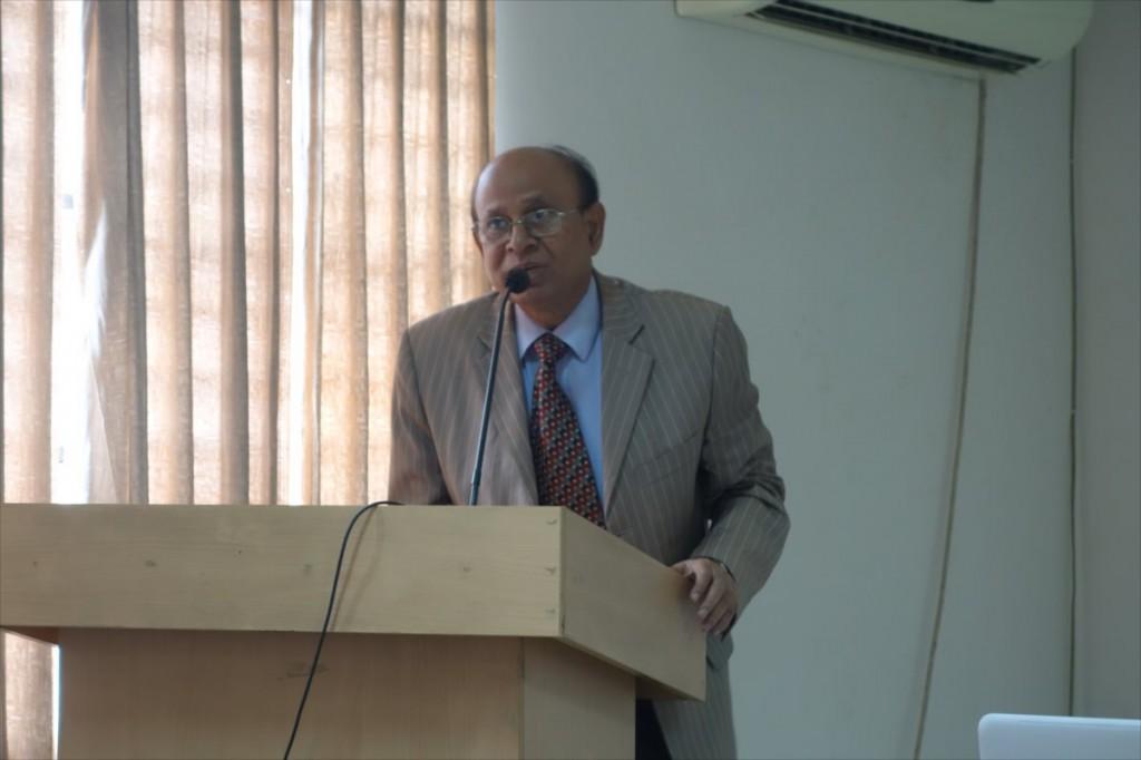 Prof. Dr. M. Afzal Hossain(BJSPSAA会長)