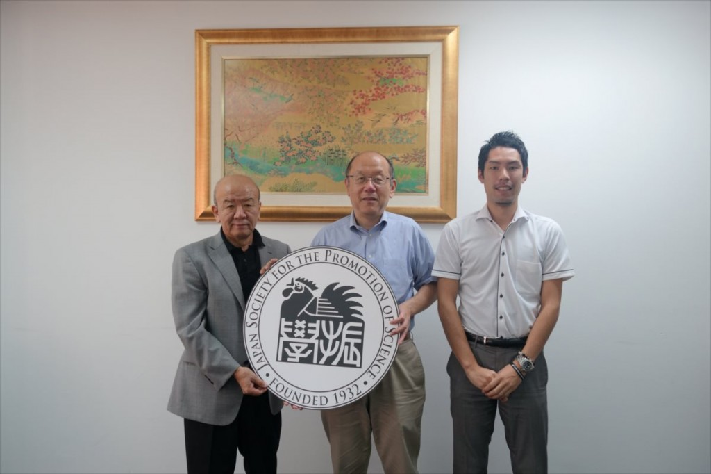 山下センター長、小林副台長、大田国際協力員