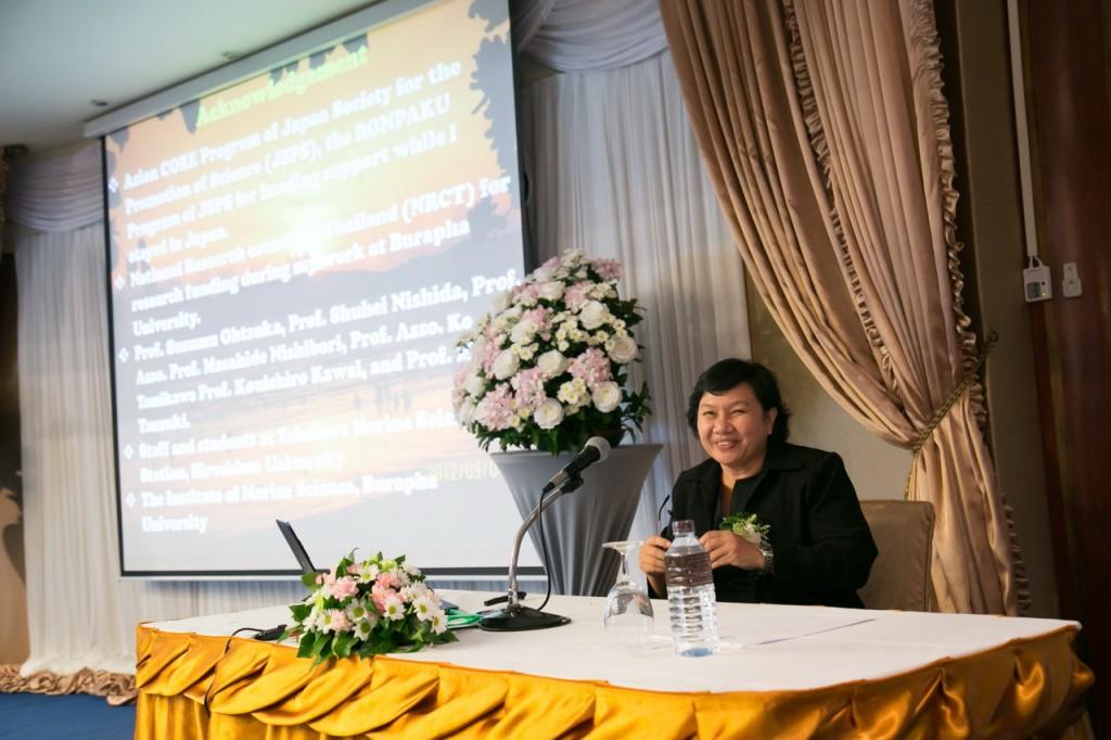Dr. Khwanruanによる講演
