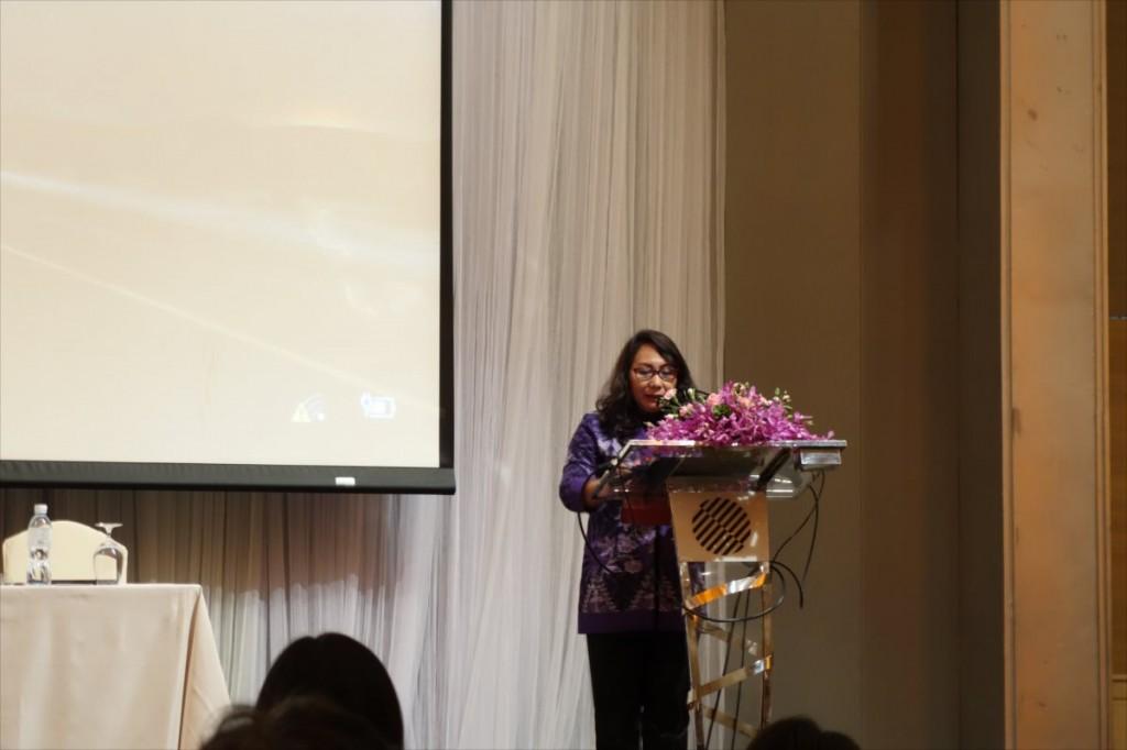 LIPI 生命科学副部門長 Prof. Sudarmonowatiによる閉会の挨拶