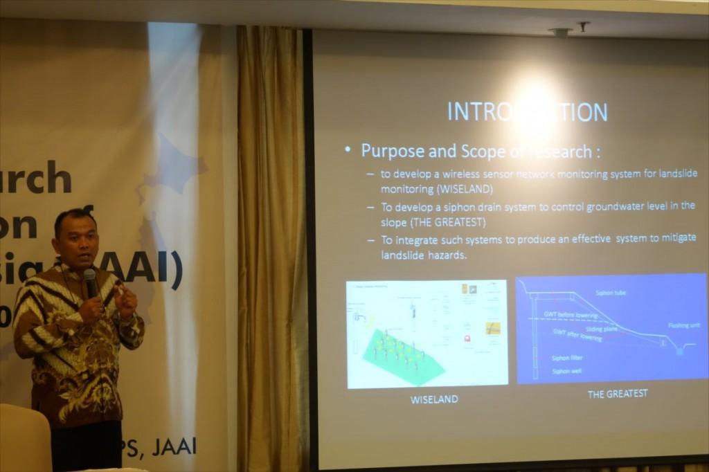 Dr. Adrin Tohari (LIPI)による講演