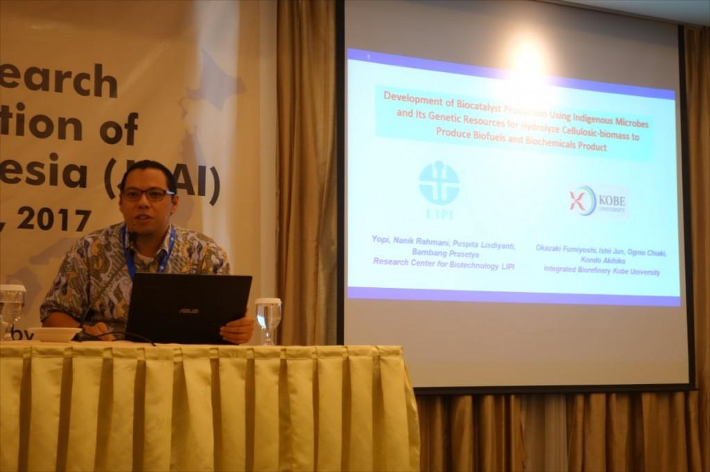 Dr. Yopi(LIPI)による講演