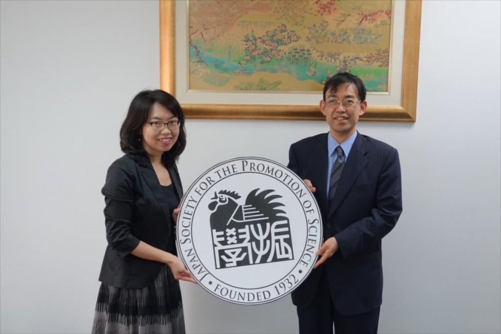 古屋副センター長と長竹グループリーダー