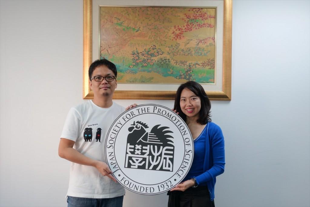 吉井先生と古屋副センター長