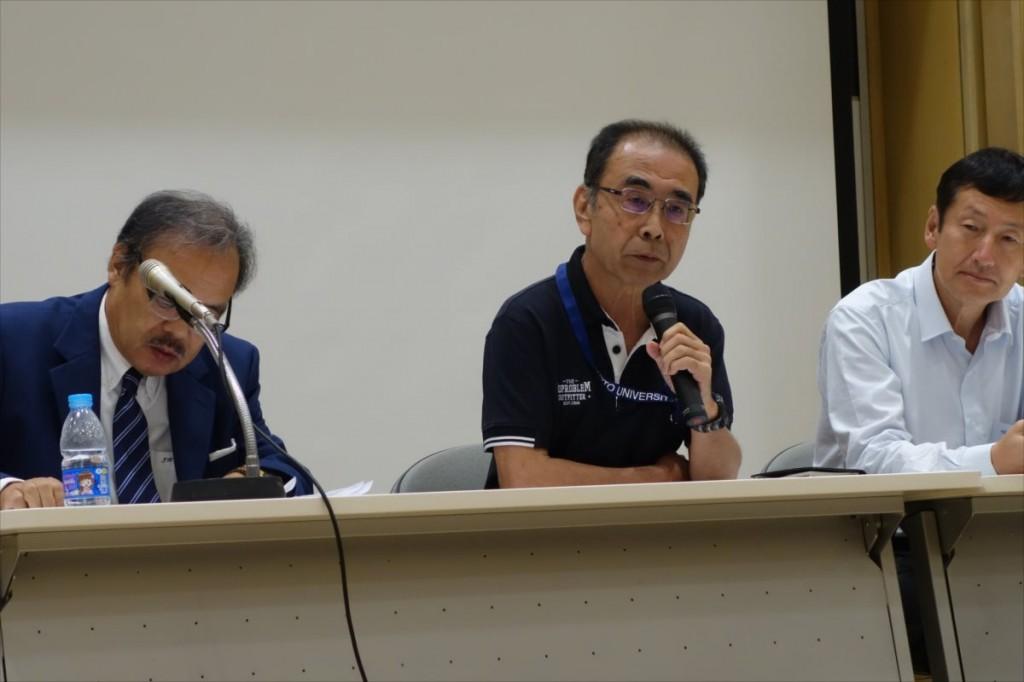 柴山教授(京都大学)