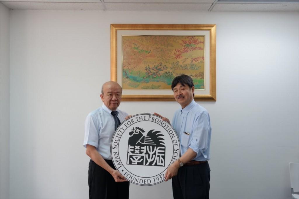 山下センター長、重田教授