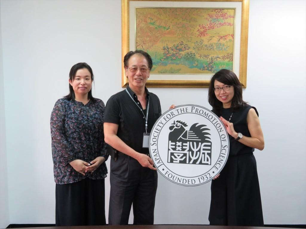 土肥国際協力員、仁平ASEAN拠点長、古屋副センター長