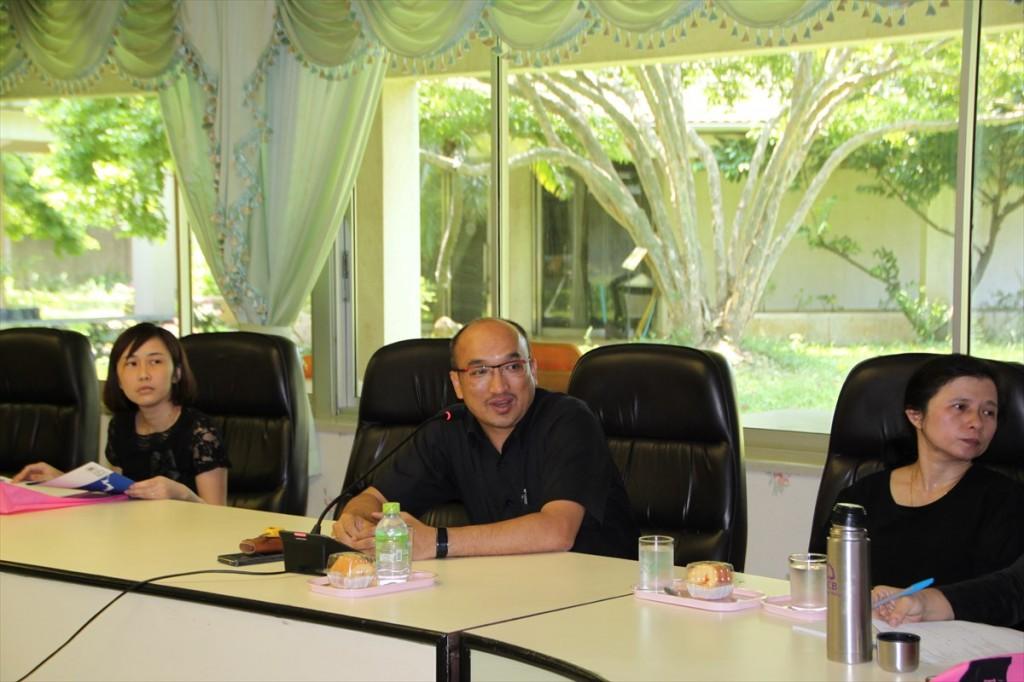 Dr. Tiwa Pakoktom農学部・研究センター長