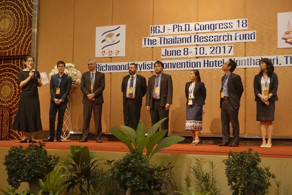 タイ国外の協力機関紹介の様子