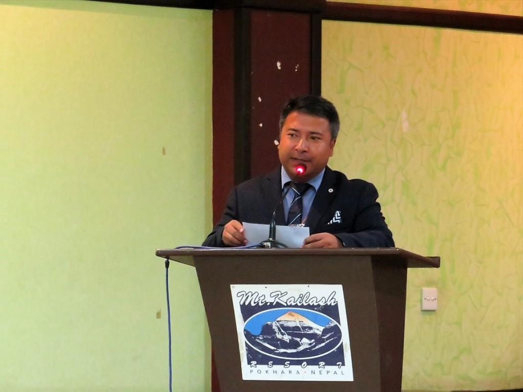 Dr. Kundan Lal Shrestha事務局長
