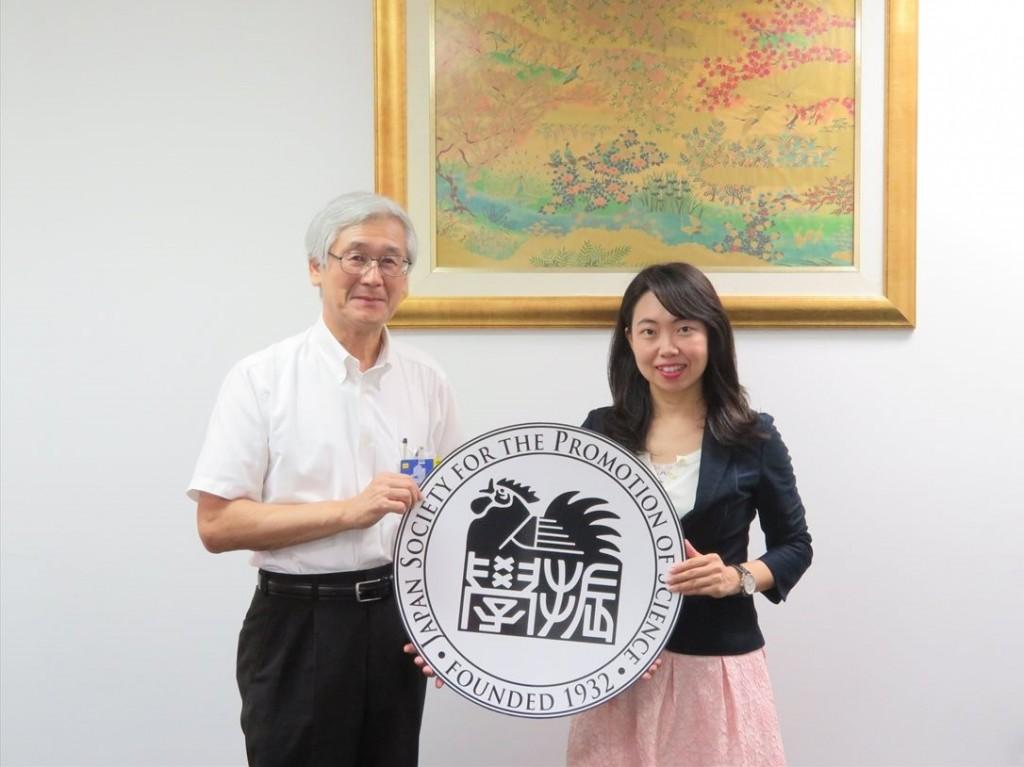 中村教授と古屋副センター長