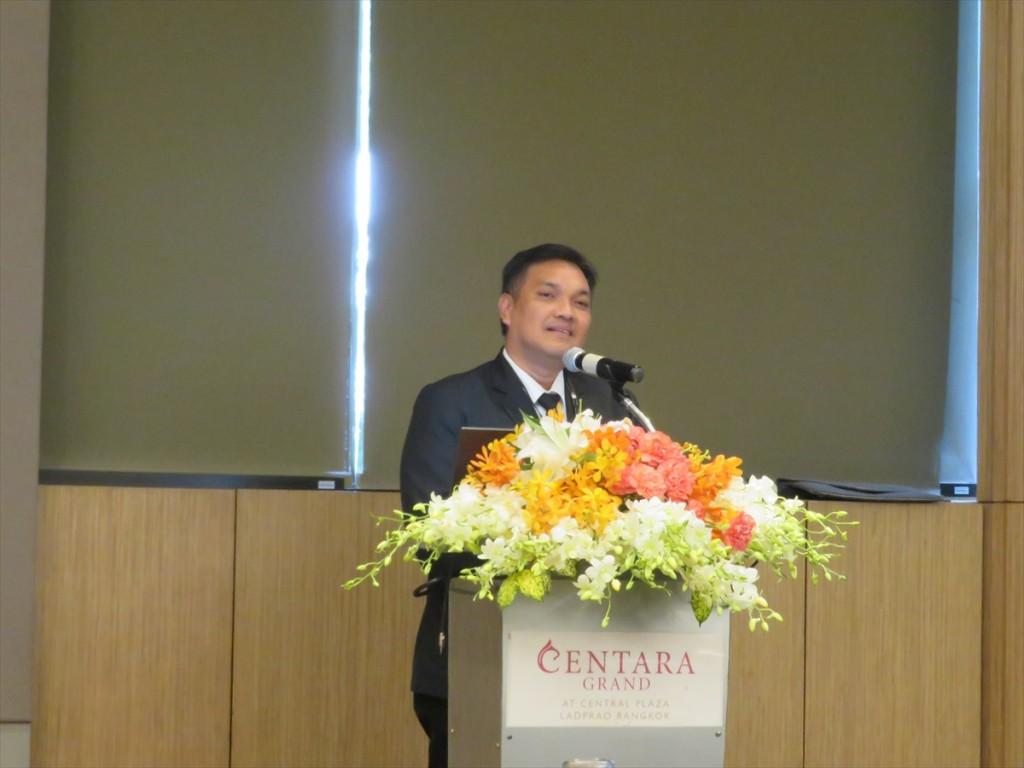 カセサート大学Acting PresidentのDr. Chongrak Wachrinrat