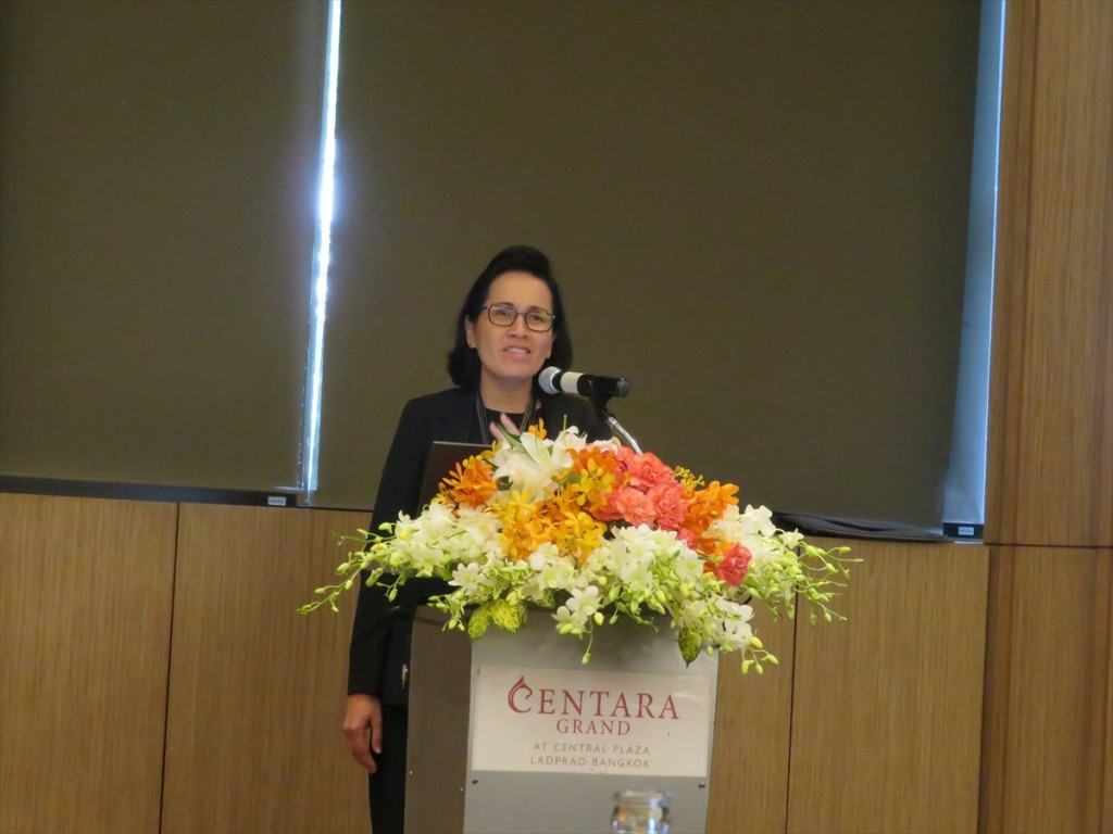 NSTDA Executive Vice President(Organization Strategy)のDr. Chularat Tanprasert