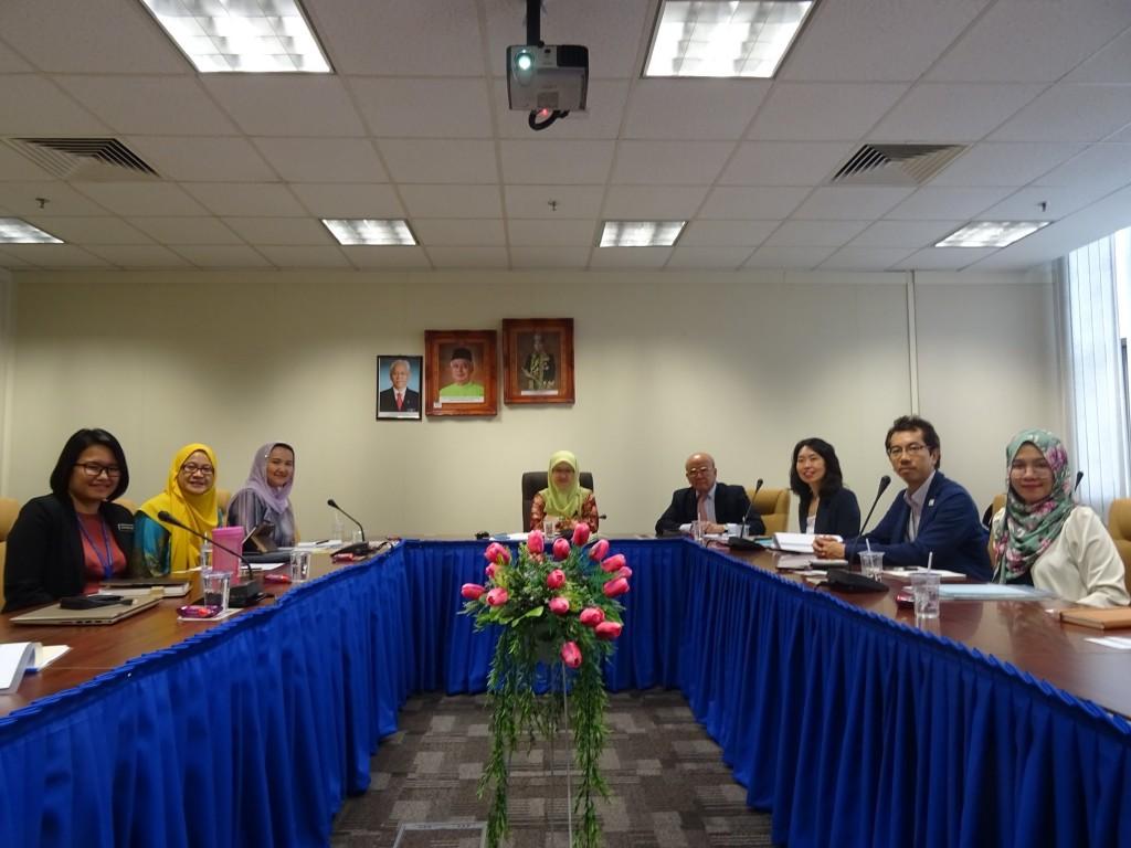 26日高等教育省への表敬訪問