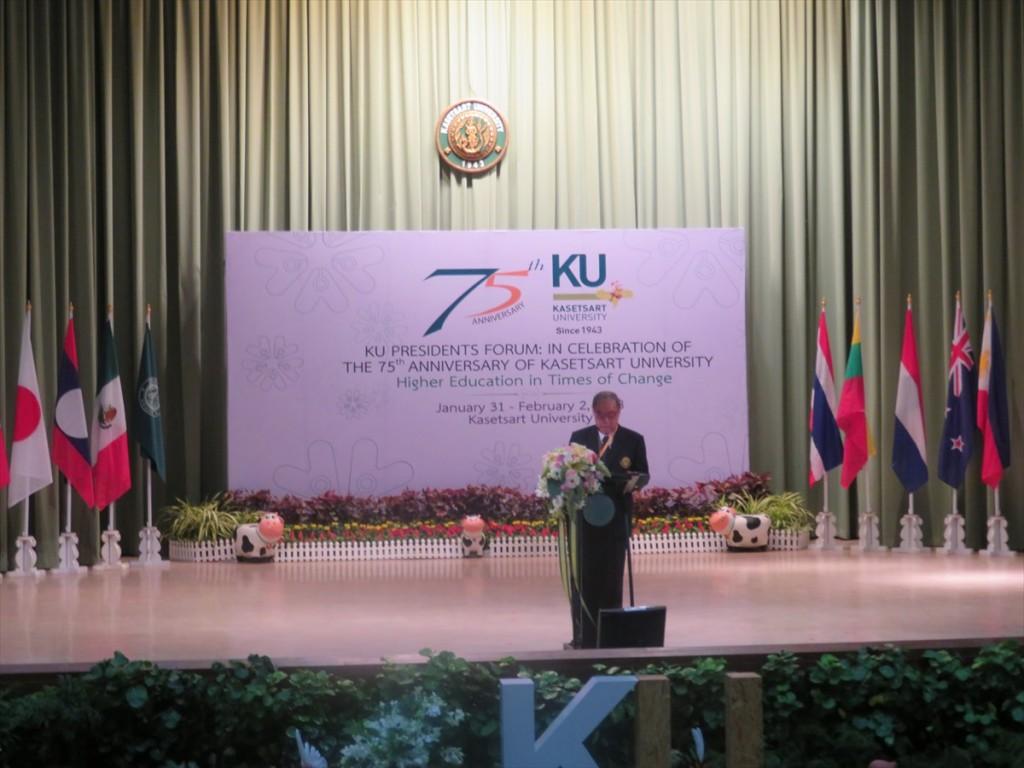 カセサート大学カウンシル Krissanapong Klratikaraチェアマン