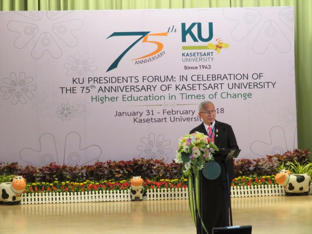 タイ教育省 Udom Kachintorn副大臣