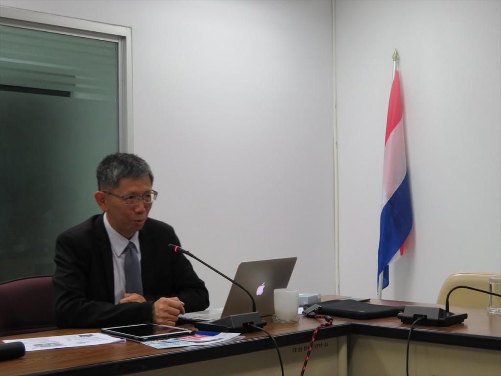 Assoc. Prof. Dr. Perapong Tekasakul副学長