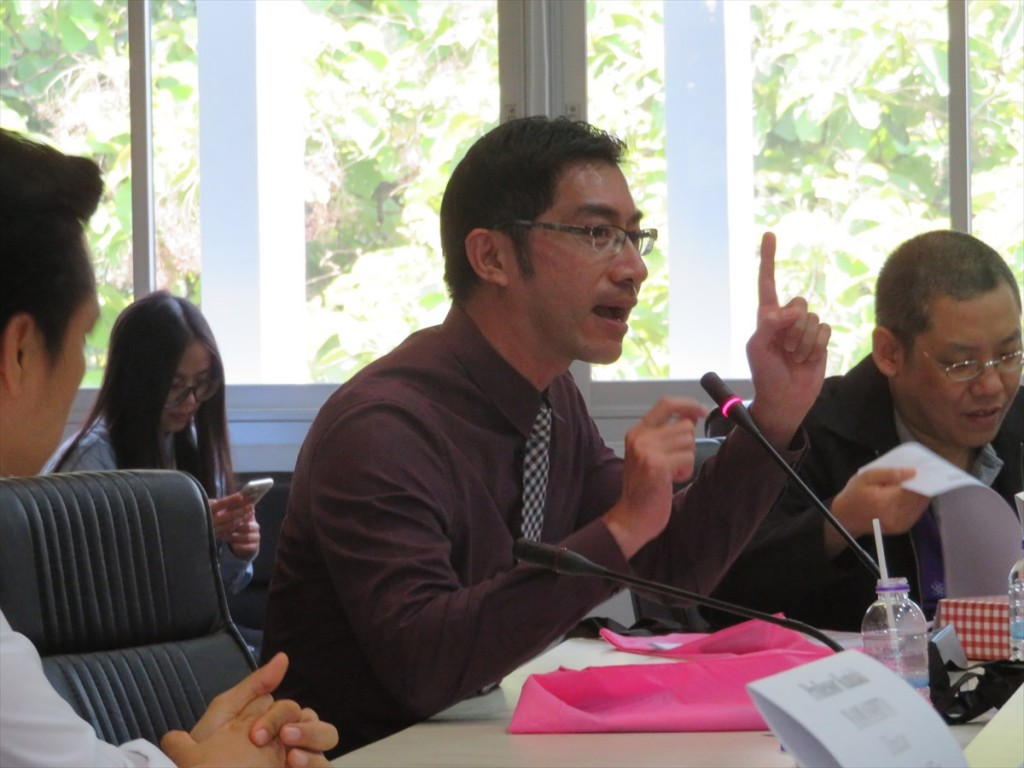 Dr. Phisit Seesuriyachan(研究拠点形成事業に参画中)