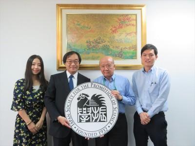 NICTアジア連携センター沼田センター長(左から2人目)