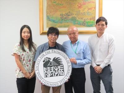 松本課長(左から2人目)