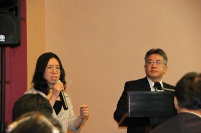 NSTDA・Dr. Kalyaneeと筑波大学鈴木教授
